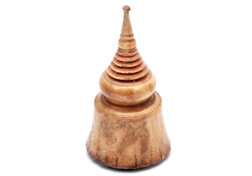 Stupa shaped stamp