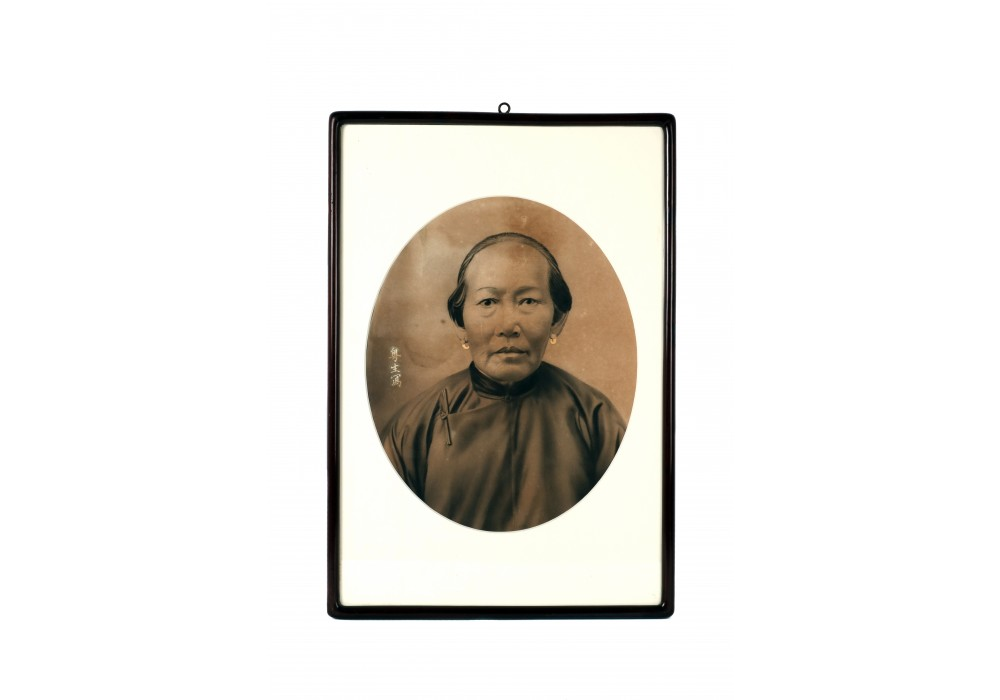 Chinese photography ancestral portrait