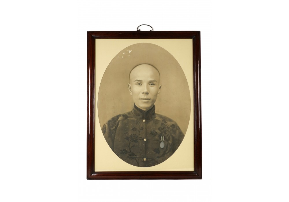 Chinese photography portrait of a man