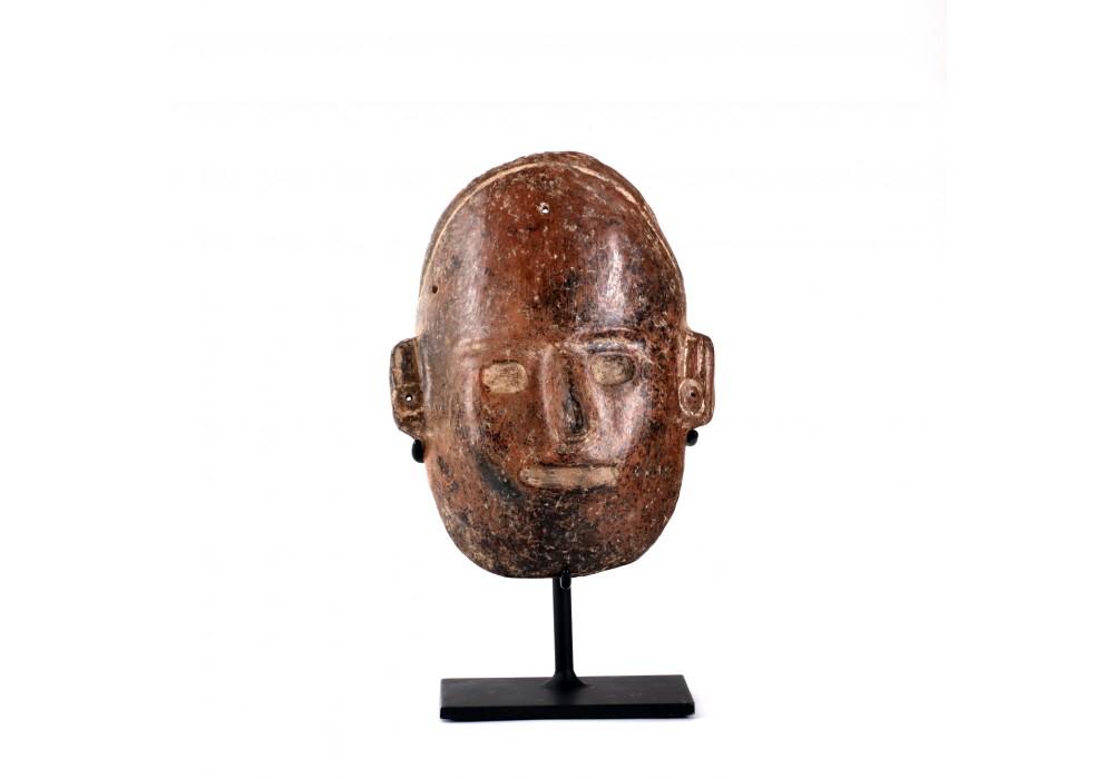 A funerary colima mask