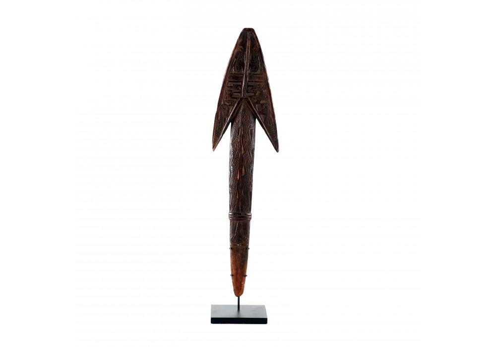 Ancienne spatule à chaux, Baie de Collingwood, Papouasie-Nouvelle-Guinée