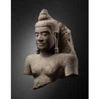 Buddha (abrité par Mucalinda ?)