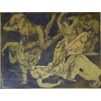 Jos Verdegem, Composition de nus, 1930