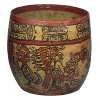 Bol polychrome Maya Copador