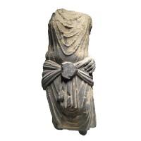 Torse Gandhara en schiste