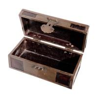 Boîte à document en bois laqué, Chine