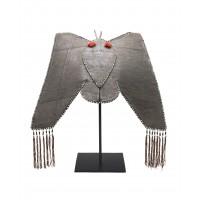 Chapeau de femme en forme de papillon, Yao, Chine