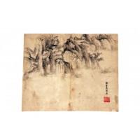 Peinture de style Dong Qichang, dynastie Qing