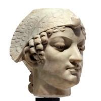 Tête en marbre de style Néo-Egyptien