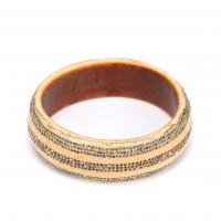 Bracelet en ivoire, peuple Ibo