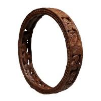 Bracelet en ivoire sculpté, style de Chandraketugarh