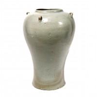 Pot balustre en grès celadon, Corée, dynastie Koryo