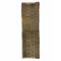 Tapis-Tigre du Tibet, 19e s.