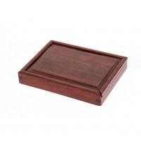 Boîte chinoise en bois d'acacia