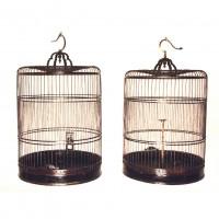 Paire de cages à oiseaux extensible, Chine