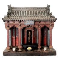 Modèle réduit d'un temple autel