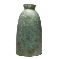 Cloche en bronze avec un motif récurrent de spirales en