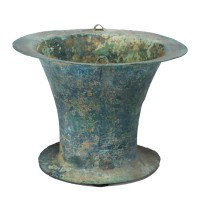 Situle d'eau en bronze, Vietnam, 5e - 2e s. av. J.-C.