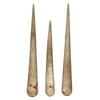 Ensemble de trois épissoirs en os de baleine