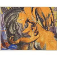 Jos Verdegem, Femme allongée, 1949