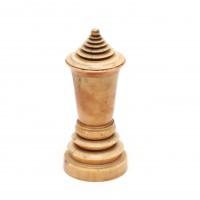 Boîte reliquaire en forme de stupa