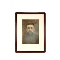 Portrait photographique d'un ancêtre, Chine