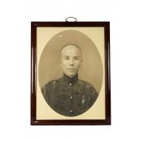Portrait photographique d'un homme chinois