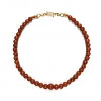 ISA B // Indonesian Jatim beads necklace
