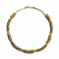 ISA B // Necklace with Murano millefiori