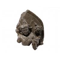Fragment de stèle représentant Padmapani
