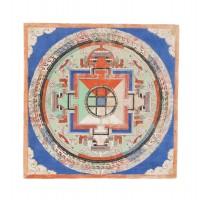 Mandala Tibétain