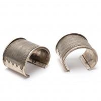 Paire de bracelets en argent, Thaïlande