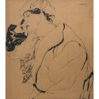 Jos Verdegem, Etude d'une figure, 1929