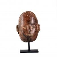 Masque funéraire, culture Colima