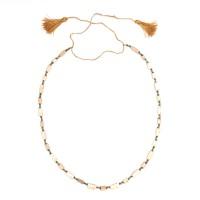 Collier de perles de faïence, Egypte, 3e - Ier s. av. J. -C.