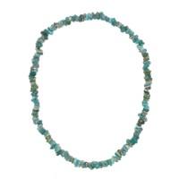 Collier de perle de verre bleu, Chine 3e - 1er s. av. J.-C.