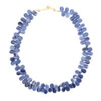 Collier de perles en forme de goutte, République Tchèque, 20e s.