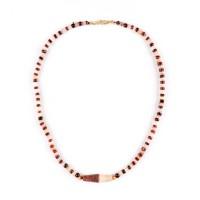 Collier ancien de perles d'agate, Afghanistan - Pakistan, Ier millénaire