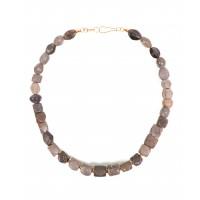Collier de perles en jaspe