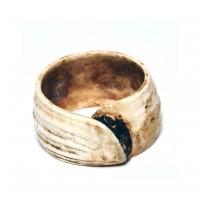 Bracelet de bras de Bornéo en coquillage, 18e - 19e s.