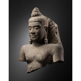 Buddha (Sheltered by Mucalinda ?)