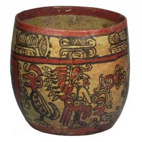 Maya Copador Polychrome Bowl