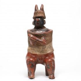 Jalisco warrior holding a mace