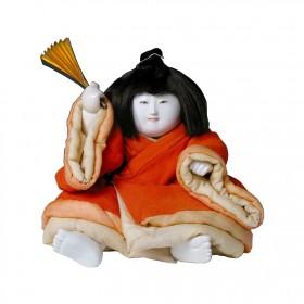 Grande poupée Gosho Ningyo, période Edo