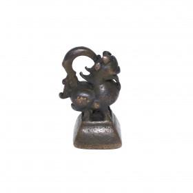 Poids à opium en bronze, Birmanie