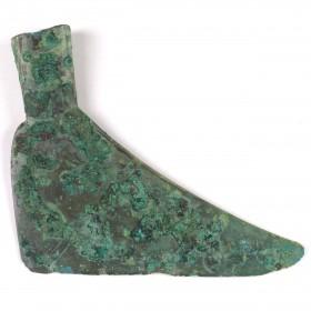 """Hache """" Chaussure"""" en Bronze Dông Son"""