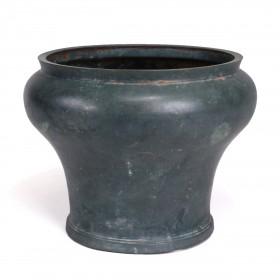 A large Khmer bronze Bowl
