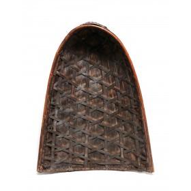 Panier et chapeau de pluie (tudung) Ifugao