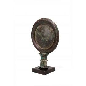 Miroir égyptien en bronze