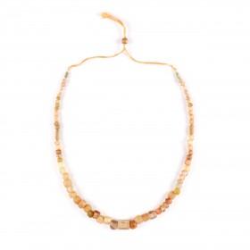 Collier de perles de verre transparent, Afghanistan, 1er millénaire av. J.-C.